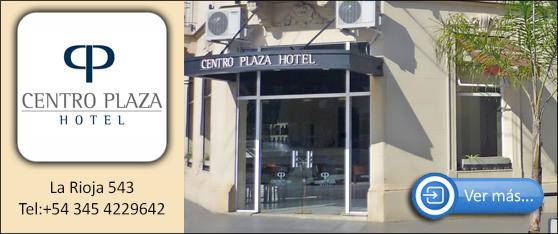 Publicidad Centro Plaza Hotel Concordia
