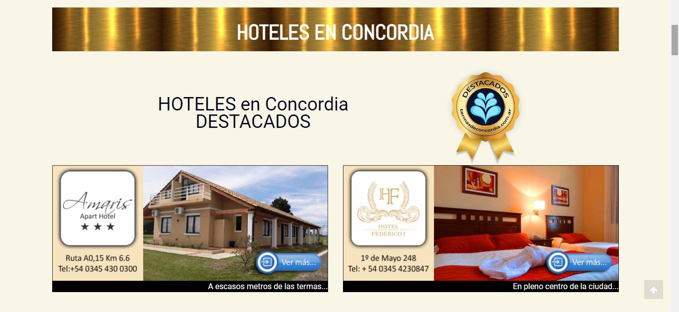 sub categoria hoteles