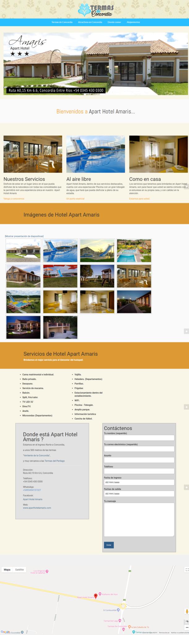 pagina anuncio