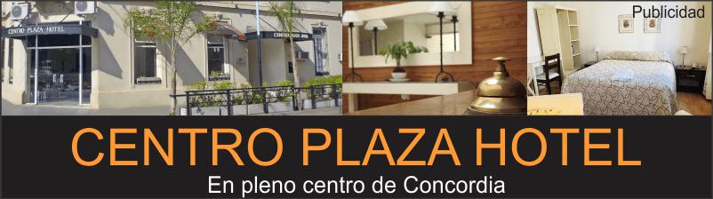 Publicidad termas de Concordia Centro Plaza Hotel