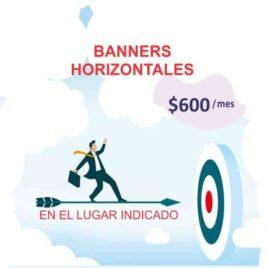 Banners Horizontales publicidad en termas de concordia.